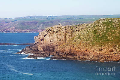 Photograph - Pedn-men-dhu From Land's End by Terri Waters