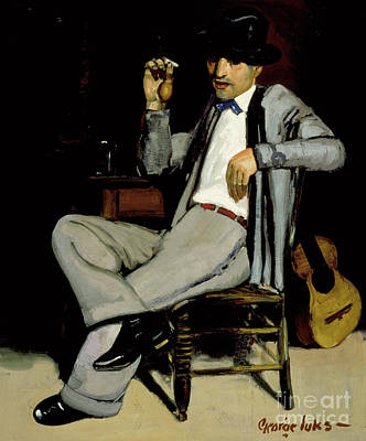 Cool Cats Painting - Pedro by George Luks