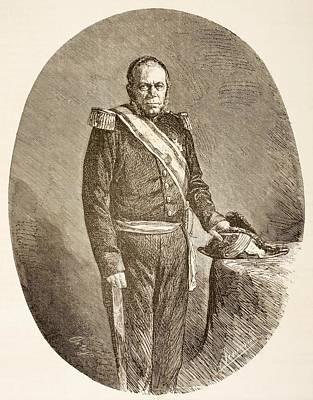Pedro Santana Y Familias,1st Marquis Of Art Print by Vintage Design Pics
