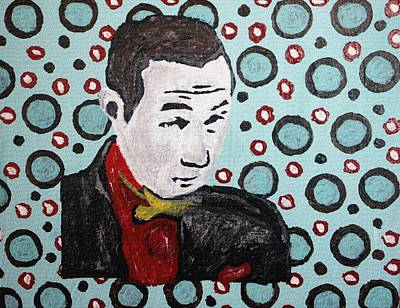 Cirlce Painting - Pee Wee Herman by April Harker