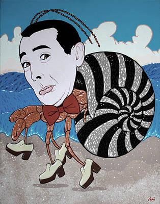 Pee Wee Herman Painting - Pee Wee Hermit  by Jason  Wright