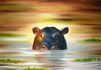 Painting - Peek A Boo by Annemeet Hasidi- van der Leij