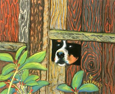 Peek-a-boo Fence Original by Minaz Jantz