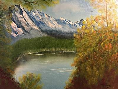 Painting - Peek-a-boo Mountain by Thomas Janos