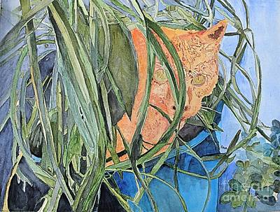 Painting - Peekaboo by Sandy McIntire