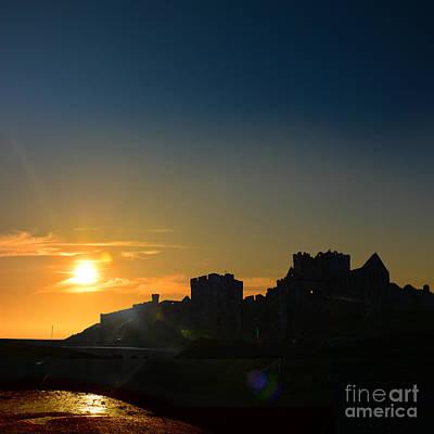 Photograph - Peel Castle by Paul Davenport