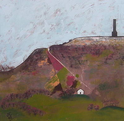 Painting - Peel Tower by Joanne Claxton