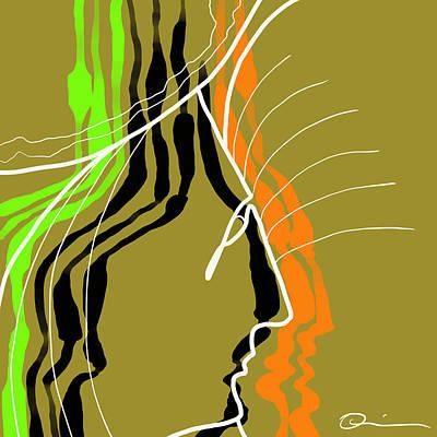 Digital Art - Peeled by Jeff Quiros
