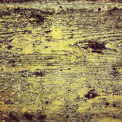 Texture Photograph - Peeling by Nic Squirrell