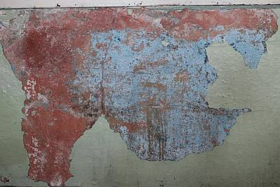 Photograph - Peeling Paint - 2 by Christy Pooschke