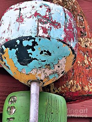 Photograph - Peeling Paint by Janice Drew