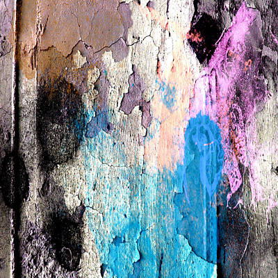 Mixed Media - Peeling Paint by Jessica Wright