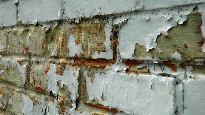 Photograph - Peeling Paint  by Kathy Barney