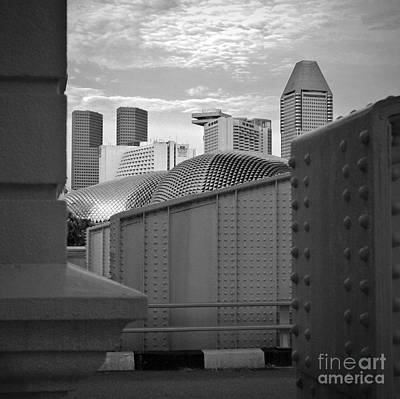 Photograph - Singapore Peep Show by Hans Janssen