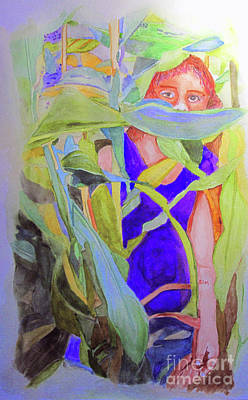 Painting - Peeper by Sandy McIntire