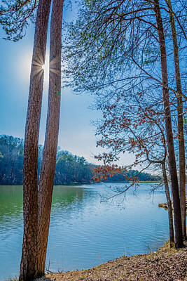 Photograph - Peeping Sun by James L Bartlett