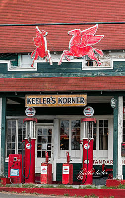 Photograph - Pegasus At Keeler's Korner I by E Faithe Lester