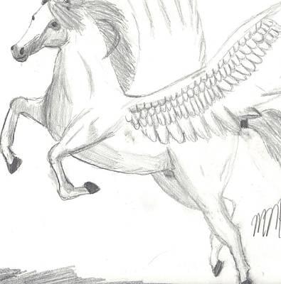 Pegasus Art Print by Maddi Pollihan