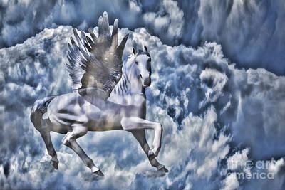 Photograph - Pegasus by Steven Parker