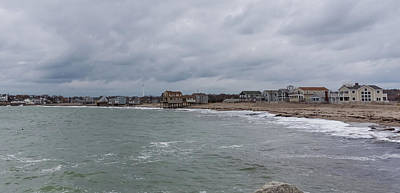 Photograph - Peggoty Beach In Scituate Massachusetts by Brian MacLean