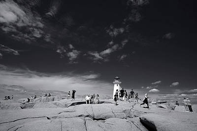 Digital Art - Peggy's Cove Afternoon by Patrick Groleau