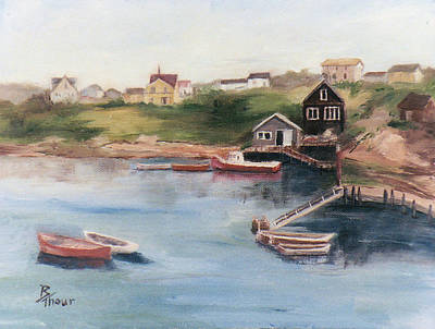 Painting - Peggy's Cove by Brenda Thour