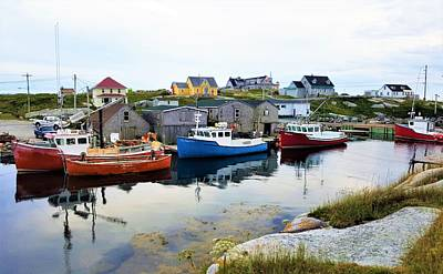 Photograph - Peggy's Cove Harbour by Cristina Stefan