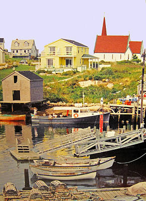 Photograph - Peggys Cove Harbour by Ian  MacDonald