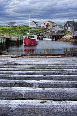 Photograph - Peggy's Cove In Perspective by Tatiana Travelways