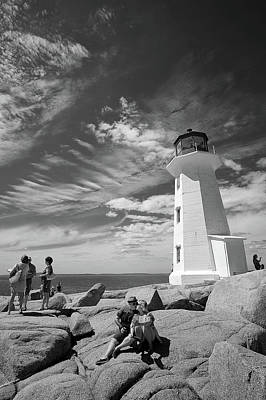 Digital Art - Peggy's Cove Interlude by Patrick Groleau