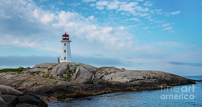 Photograph - Peggy's Cove Lighthouse by Bianca Nadeau