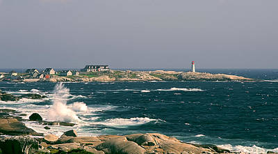 Photograph - Peggy's Cove by Lou  Novick