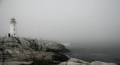 Photograph - Peggy's Cove by Mark Alesse