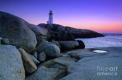 Photograph - Peggy's Cove Nova Scotia Canada by Bob Christopher