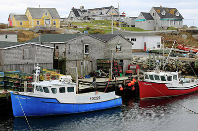 Photograph - Peggy's Cove, Nova Scotia by Gary Corbett