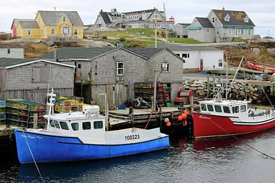 Photograph - Peggy's Cove, Nova Scotia by Gary Corbett