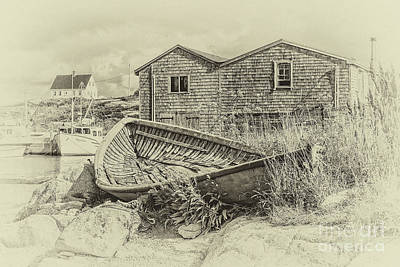 Photograph - Peggy's Cove, Nova Scotia by Gene Healy