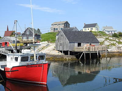 Photograph - Peggy's Cove, Nova Scotia by Brian Chase