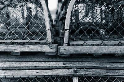 Photograph - Pei Loberster Traps by Chris Bordeleau