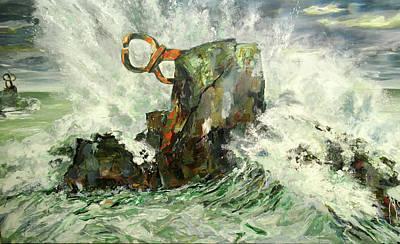 Painting - Peine Del Viento by Koro Arandia