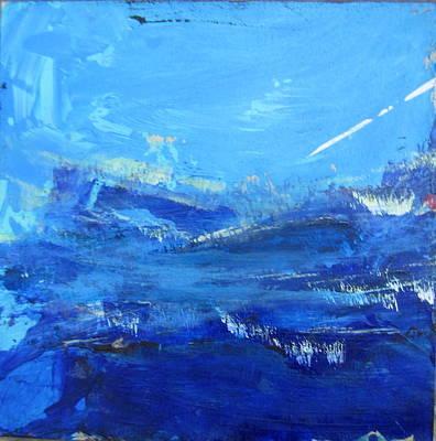 Painting - Peinture Abstraite Sans Titre 10 by Francine Ethier