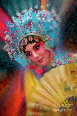 Photograph - Peking Opera Girl by Blake Richards
