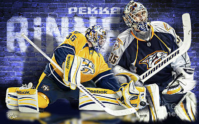 Digital Art - Pekka Rinne IIi by Don Olea