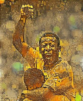 Pele Wall Art - Digital Art - Pele by ArtMarketJapan