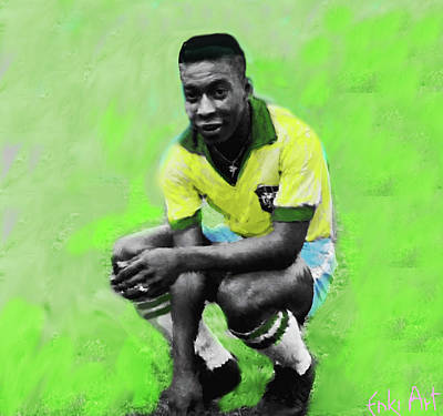 Pele Mixed Media - Pele  by Enki Art