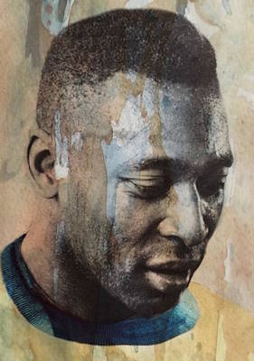 Soccer Digital Art - Pele  by Paul Lovering