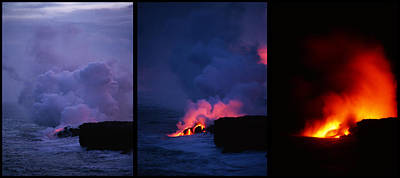 Art Print featuring the photograph Pele's Breath Series by Gary Cloud