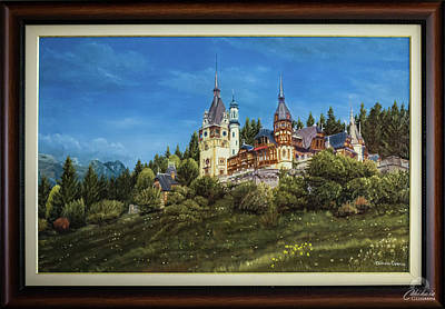 Peles Castle 150 Years Of Monarchy Original by Cosmin CHIHAIA