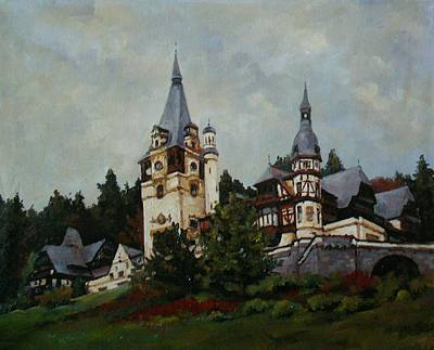 Peles Castle Original by Vasile Ion