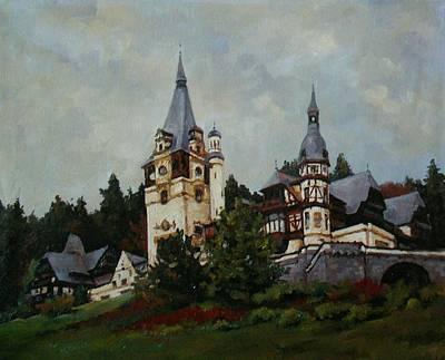 Peles Castle Original by Vasile Ion